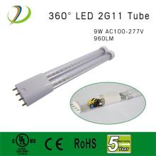 UL listed 9W 2G11 4PIN Led Tube