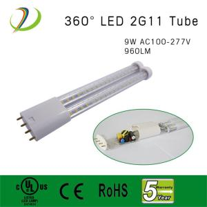 UL listado 9W 2G11 4PIN Led Tube