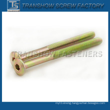 1/4-20*2 Inch Carbon Steel Frniture Screw