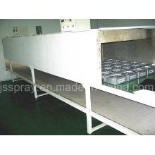 Linha contínua industrial transporte do equipamento da limpeza para o metal