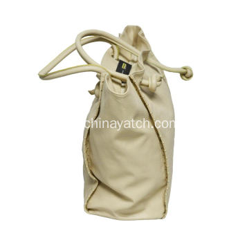Stock Fashion Lady PU Single menangani tas