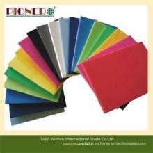 Tablero duro de espuma de PVC de alto brillo para decoración y publicidad