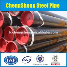 Tuyau en acier à l'huile api 5ct grade j55 tuyau en acier tube tuyau d'acier poêle à eau