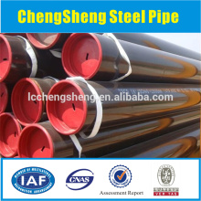 oil steel pipe api 5ct grade j55 steel casing pipe steel water well casing pipe