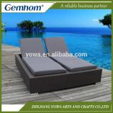 China supplier flat plastic rattan furniture