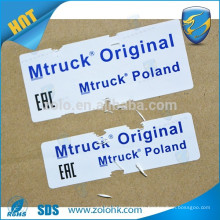 Chinese imports wholesale custom vinyl destrucitble sticker tamper seal with serial number
