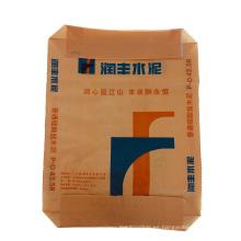 Bolsa de cemento de construcción de punto de material plástico monocapa