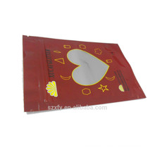 Ziplock seal plastic bag for packaging chocolates