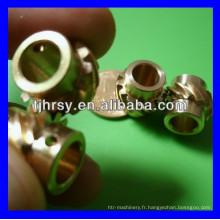 Engrenage en spirale en cuivre, engrenage hélicoïdal en laiton