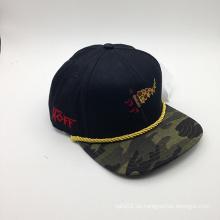 Hilo de rosca personalizado adornó el casquillo de la manera del Snapback (ACEW148)
