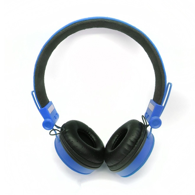 blue cotton denim earphone