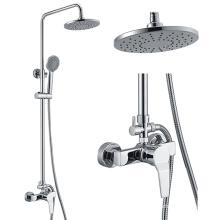 Sistema de alta calidad de la ducha del cobre del proveedor de 2016 China, panel de ducha, columna de la ducha