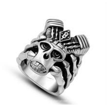 Мужские кольца Vingate панк ювелирные изделия нержавеющей стали 316L