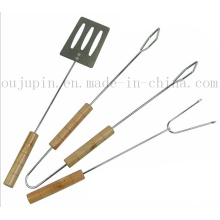 OEM BBQ Skewer Stick Tongs Shovel Fork Tools Set