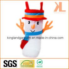 Полиэстер Высокое качество Новогоднее украшение Снеговик Стиль Браун Конфеты Boot