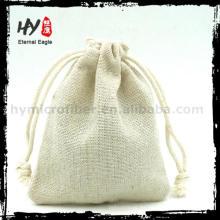 Bolsa de calicó con cordones multifuncional de lona con alta calidad
