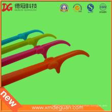 Atacado reutilizáveis Dental Floss Plastic Stick Holder Pick