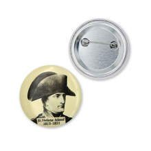 Nouveaux produits pour 2016 Cheap Custom Logo Tin Badge