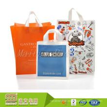 El plástico biodegradable de encargo del precio al por mayor del fabricante de Guangzhou lleva el diseño del bolso con propio logotipo