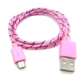 USB to Micro-USB Charge Cables with braid