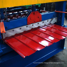 Full automatic metal contruction roofing panel roll forming machines