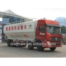 De alta calidad 30-35m3 camiones de granel para la venta, dongfeng camiones de alimentación usados para la venta