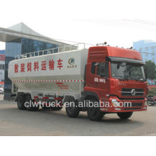 High quality 30-35m3 bulk feed trucks for sale,dongfeng used feed trucks for sale