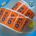 Flaschen-Getränk-Kleber wasserdichtes runder Logo-Druck-Vinylaufkleber-Aufkleber