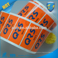 Bottled Beverage Adhesive Waterproof Round Logo Print vinyl Sticker Label