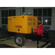 Gisement de pétrole utilisé pour piston pompe eau injectée en entraînée par moteur Diesel ou moteur électrique