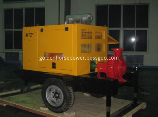 Mobile Diesel Water pump1