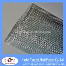 Malha de arame quadrada galvanizada / engranzamento de fio quadrado galvanizado galvanizado para a construção