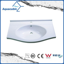 Sanitaryware Polymarble Single Bowl Basin Sink Acb8055