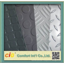 PVC Floor with Steel Design for Auto Use