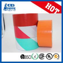 Cinta adhesiva de PVC de alta calidad para colorear el suelo