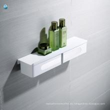 ABS blanco accesorios de baño multifunción Carrier Shelf Storage Rack