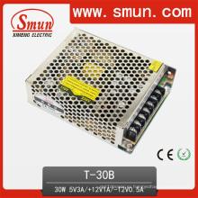 30 Вт тройной выход Импульсный источник питания 5V12V-12В