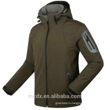 Новые Мужские Водонепроницаемые Дышащие Softshell Куртка