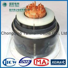 Профессиональное высокое качество Номинальное напряжение 0.6 / 1кВ ~ 26 / 35кВ xlpe изолированный кабель