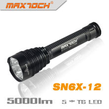 Maxtoch SN6X-12 5000 Lumen lampe torche LED Super brillantes chaud blanc LED Flashlight