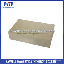 block ring SmCo magnet, uncoated and coating NI