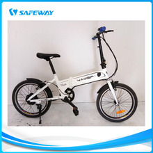 Aluminum folding frame battery-hidden electric bike