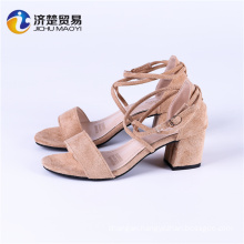 Europe and the United States trend of fashion ladies heel shoes