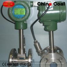 Débitmètre massique d'air liquide d'eau liquide de Dn40 Digital Coriolis