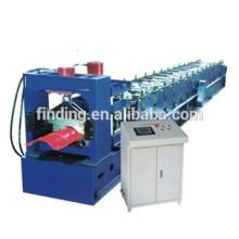 CNC hidráulica tapa precio/caballete cumbrera formando equipo