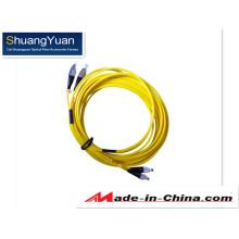 Cordon de raccordement G652D FC Duplex Sm Fiber Optic
