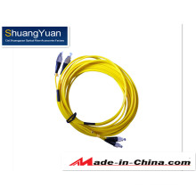 G652D FC Duplex Sm Fibra Óptica Patch Cord