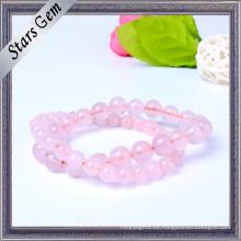 Pulsera de moda cristalina rosa
