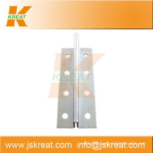 Elevator Parts|Guiding System|Elevator Hollow Guide Rail Fishplate|linear guide rail fishplate