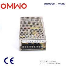 Fuente de alimentación de conmutación de 120 W Quad Output Wxe-120q